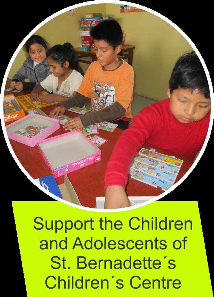 Sponsor a child in St. Bernadettes Children's Centre